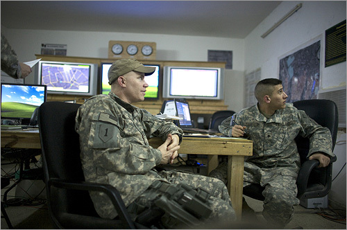 In 2008 the violence in Rashid has largely subsided, in part due to the work of Frank (left) and his soldiers of the 1st Battalion, 28th Infantry Regiment, known as the 'Black Lions.' As part of the 'troop surge' the US military launched in 2007, Frank helped lay the groundwork for reconciliation between Sunnis and Shiites in this Baghdad community.