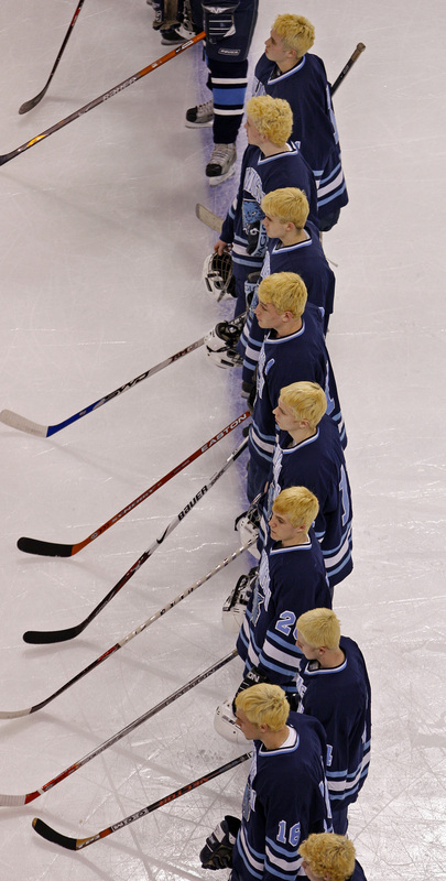 Almost the entire Wilmington team dyed their hair blond for the tournament run.