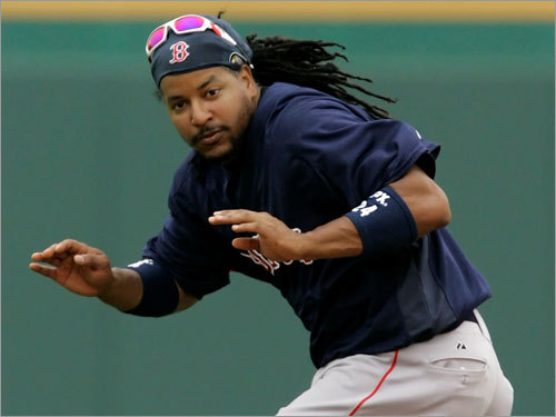 Manny Ramirez, LF Fast fact: Hit .366 against lefthanders on the road; the rest of the team hit .249. Lowdown: Ramirez, who is just 10 home runs shy of joining the exclusive 500 club, may have fallen short offensively (by his standards) last season, but his .389 average in September and October and a .348 average and four home runs in the postseason bodes well. Ortiz seems to believe -- that should be enough.