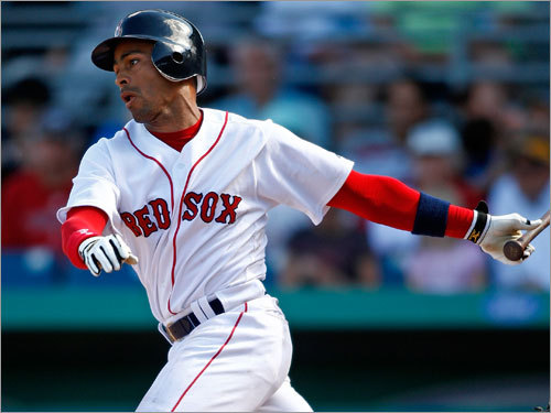 Julio Lugo, SS Fast fact: Red Sox were 55-27 with Lugo batting leadoff, 41-39 with others leading off. Lowdown: His fi rst season with the Red Sox? Disappointing. He went through a hitless streak of 31 at-bats during the middle of the season and barely recovered. He should bounce back, but he hasn't been able to show much of anything in spring training, as his back injury opened the door for lots of playing time for Jed Lowrie.