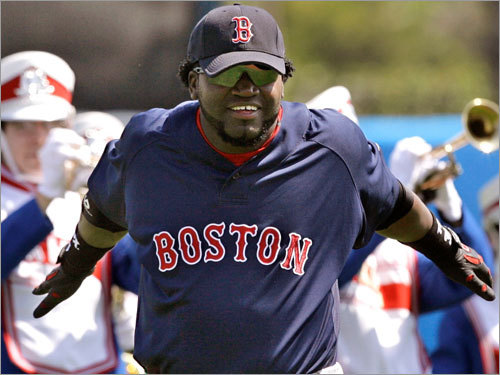 David Ortiz, DH Fast fact: Of his 117 RBIs, 47 either tied the game or gave the Red Sox a lead. Lowdown: Can you have a down year when your batting average improves 31 points over your career high? Playing through a torn meniscus in his right knee, he hit just 35 home runs in 2007 (after smashing 54 in 2006), but raised his doubles total from 29 to 52. After offseason surgery, expect the power numbers to rebound.