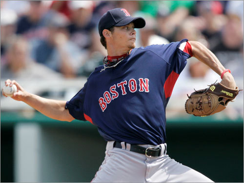 Clay Buchholz, SP Fast fact: Held righthanded batters to a .133 average, allowing only four hits, all singles. Lowdown: He's No. 2 in Baseball Prospectus' top 100 prospects, and his secondary pitches are as developed as his fastball -- rare for a young starter. This could be the year Buchholz, who threw a no-hitter in his second major league start, makes the jump to potentially dominant big league starter.