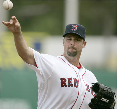 Tim Wakefield, SP Fast fact: ERA was 3.19 over the first three innings, 6.28 after the third inning. Lowdown: Wakefield expressed shock that Doug Mirabelli was released. So how will the changing of the guard (or the personal catcher) affect him this season? Cash got a chance to catch five of Wakefield's games last season, when Mirabelli was injured, and he didn't commit a passed ball.