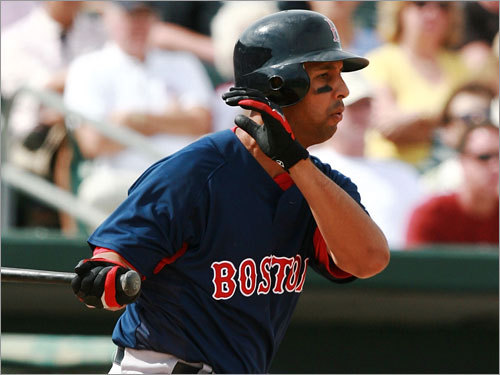 Alex Cora, IF Fast fact: Red Sox were 23-7 (.767) when Cora started at second base, 35-17 (.673) when he started at any other position. Lowdown: There won't be any more calls for Cora over Dustin Pedroia this season, but Cora remains an outstanding utility infi elder -- steady in the field, with an adequate bat. He hit .360 in April last season, proving his worth when Pedroia struggled. But he helped most behind the scenes, making sure Pedroia knew he was the starter at second.