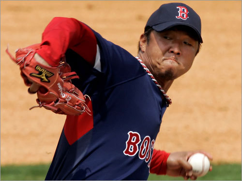 Hideki Okajima, RP Fast fact: Opponents batted .061 (2 for 33) against him with two or more runners on base. Lowdown: He could be the key to the success of the bullpen. Supposedly with a new pitch, Okajima comes in as a proven commodity, rather than an unknown Japanese lefty. But can he replicate his success? Fatigue was a factor in '07, with Okajima going from a 0.83 ERA in the first half to a 4.56 ERA in the second half (in 18 fewer innings).
