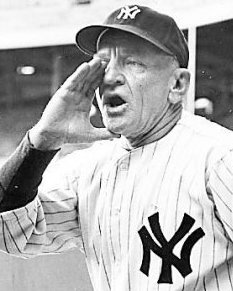 CASEY STENGEL Genius . . . right?