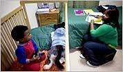 For student-mothers, reality a harsh teacher