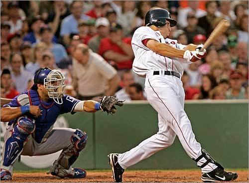 He's a visual learner. 'That's why I like watching tape. Someone can tell me something, but once I see it, I can start to feel it.' At left, Ellsbury got his first major-league hit on June 30, 2007.