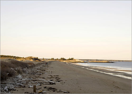 uncrowded maine beaches