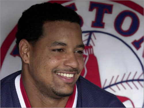 2000 The 2000 season was Manny's last in Cleveland before signing with the Red Sox in the offseason, and he made it a memorable one. Ramirez hit 38 homers in just 118 games, batting .351 with 122 RBIs along the way. His OPS of 1.154 led the league.