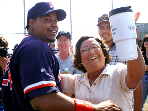 Signing with the Sox Following the 2000 campaign, Ramirez inked an eight-year, $160 million contract with Boston. Expectations were high for the slugger, who came to Boston with an impressive resume.