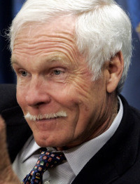 Ted Turner said he regrets criticizing religion.