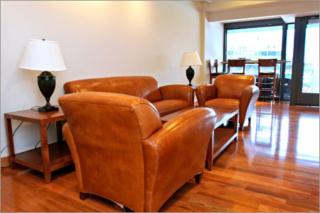 Odds are that if you're looking for last-minute tickets, you won't be sitting here, one of Fenway's 40 suites that were remodeled prior to the 2007 season. Fenway's luxury suites can run almost $300,000 per season. The suites come with a commitment of at least 10 years.