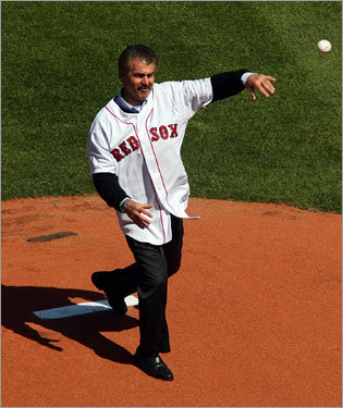 Bill Buckner was released by the Red Sox on July 23, 1987, then returned to the team in 1990 when he played 22 games and retired.