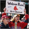 Home opener: Fenway scenes