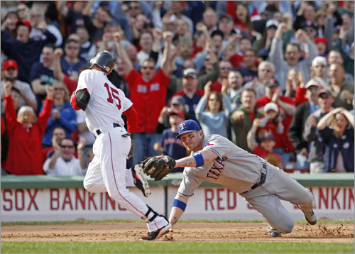Sunday: Sox 6, Rangers 5 Trailing 5-0 in the seventh, the Red Sox scored six unanswered runs in the seventh and eighth innings to come from behind against the Rangers for the second straight game. Their game-winning four-run rally in the eighth came with two outs in the inning.