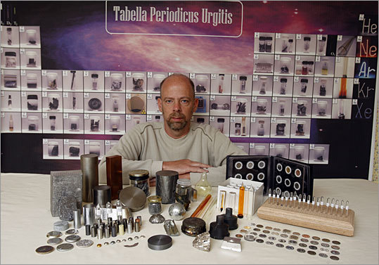 With Metallium Inc., David Hamric creates coins from elements and has collected 82.