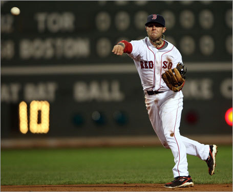 Dustin Pedroia made a sensational diving play in the ninth inning to save a run and get the Red Sox out of a jam.