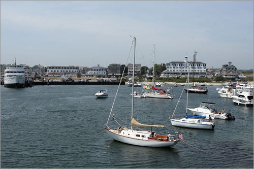 Old Harbor, Block Island's only village, features picturesque shops, restaurants, and hotels.