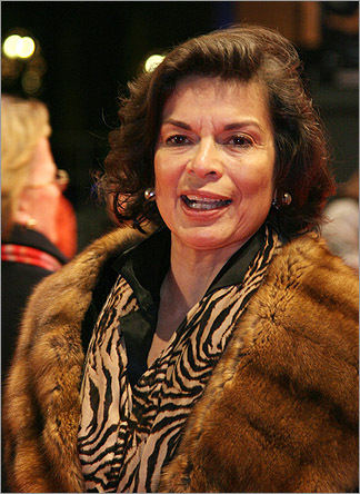 Bianca Jagger, a human rights activist and former wife of Rolling Stones lead singer Mick, will speak to the graduating class at Simmons College. At left, Jagger on the red carpet prior to a screening at the Berlinale International Film Festival in Berlin, Feb. 14, 2007.