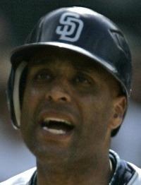 TONY CLARK Padre bats quiet