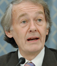 Representative Ed Markey, the bill's sponsor.