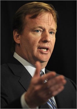 Commissioner Goodell said of the Rams tape rumors, 'We were also able to verify that there was no Rams walkthrough tape.'