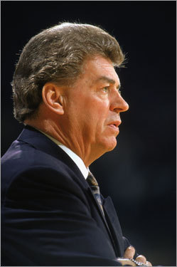 The Pistons kept coming back, as coach Chuck Daly guided them to 370 wins and a .645 winning percentage between 1984 and 1991. Detroit would take the next three series from the Celtics.