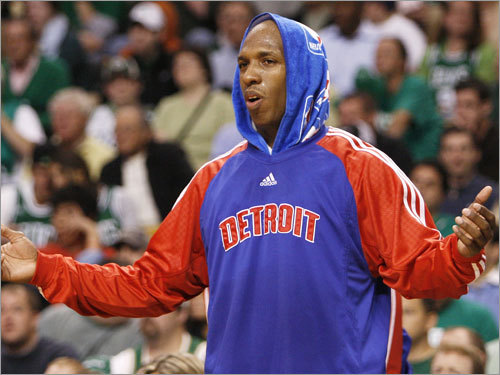 Billups and the Pistons were left wondering what went wrong after losing to the Celtics.