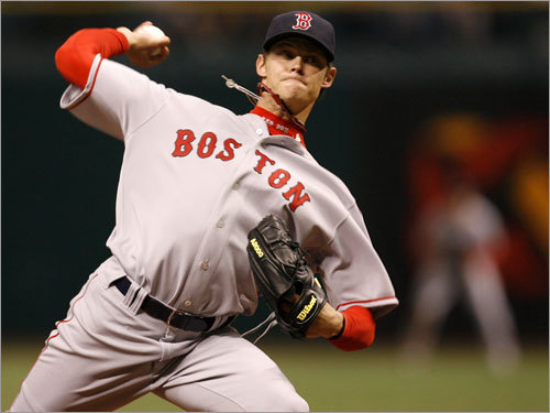 Clay Buchholz Jon Lester isn't the only young Sox ace-in-waiting to have twirled a no-no at the big league level. Buchholz, 23, rocketed through the minors with a 2.46 ERA, along with 356 strikeouts and 77 walks in just 285 2/3 innings. He is currently on the DL, with a 2-3 record and a 5.53 ERA in 2008.
