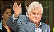 Senator Edward Kennedy has been diagnosed with cancer