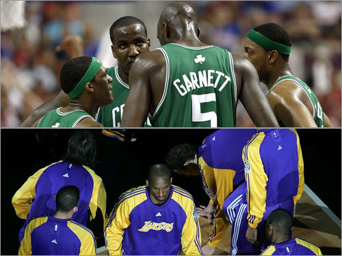 It's time for the Celtics and Lakers to renew their historic NBA Finals rivalry. As the two teams get set to square off, here's a position-by-position breakdown of the matchups. Click along, and let's get started.