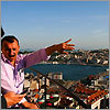 Up high in Istanbul
