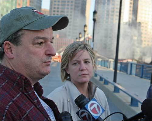 A co-owner of the seafood business, Ed Hook, and his wife, Julie, talked to members of the media near the blaze. Hook said that six of his siblings are involved in the long-running family business, which is now destroyed. The business, which has been around since the 1920s, shipped 50,000 pounds of lobsters a day.