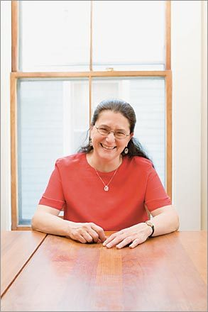 Naomi Bar-Yam, executive director and founder of the Mother's Milk Bank of New England.