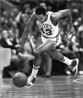 Game 2, 1984 -- Henderson makes history With the Lakers holding a 115-113 lead with 18 ticks left, James Worthy's pass to Byron Scott is picked by Gerald Henderson, who travels down the court for an easy layup. The game is sent to overtime, where the Celtics pull out a 124-121 win to tie the series at one game apiece.