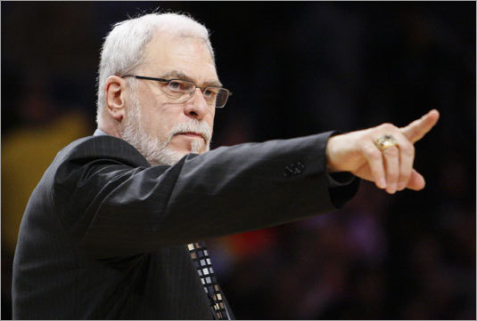 Phil Jackson, gunning for his 10th NBA title as a coach, is well aware of his place in history.