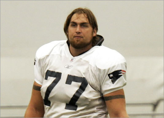New England Patriots offensive lineman Nick Kaczur