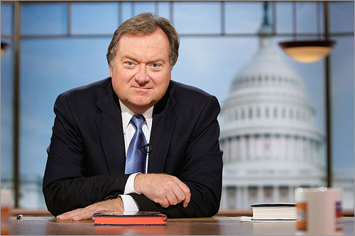 Tim Russert, the Washington Bureau Chief for NBC News and the iconic moderator of the influential Sunday politics talk show 'Meet the Press' died Friday. Russert, 58, was killed by a heart attack.