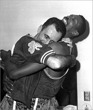 No. 6: 1962-63 Record : 58-22 Playoff record : 8-5 Result : Championship The incomparable Russell headed a roster than included a record eight Hall of Fame players. It was the last of Cousy's six championships and the first of Havlicek's eight.