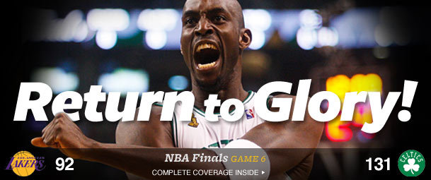 Celtics win NBA title!