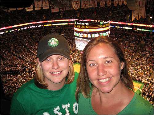 You've been sending us your Celtics fan photos, and here are some of the best! Send us your Celtics fan photos!