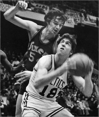 No. 3: 1972-73 Record : 68-14 Playoff record : 7-6 Result : Lost in conference finals Ah, what might have been. Havlicek injured his shoulder in Game 3 of the conference finals against the Knicks. The Knicks easily dispatched LA in 5; a healthy Celtics team would have swept them.