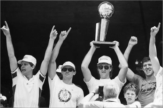 The 1985-1986 Celtics went 67-15 in the regular season and lost only three games on their way to their 16th NBA Championship.