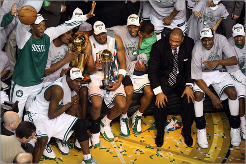 Sam Cassell and the rest of the Celtics are at the crest of the latest championship wave to wash over Boston.