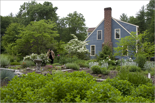 Perini said the attributes of this quaint Cape and the surrounding gardens combine to make the property somewhat unique.