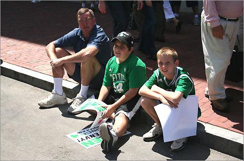 Celtics fans talk