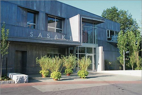Sasaki Associates' Watertown headquarters.
