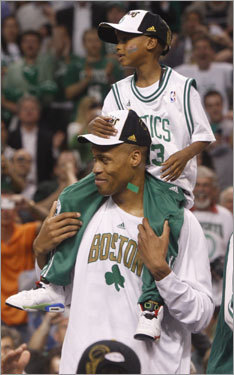 P.J. Brown, F/C What can Brown do for the Celtics? The 38-year-old joined the team after the Big Three begged him at the All-Star break and Brown delivered key postseason games (Game 7 vs. Cleveland), which pushed the Celtics deeper in the playoffs.