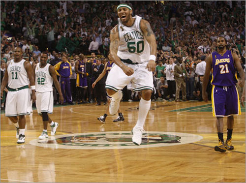 Eddie House, G A fan favorite for his hustle, House brought energy off the bench and an outside threat to keep defenses honest. He was quiet scoring in the playoffs, but his key steals and 3-pointers stretched leads and shifted momentum.